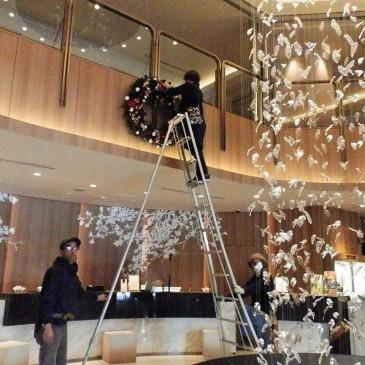 ホテル日航立川 東京クリスマス装飾1
