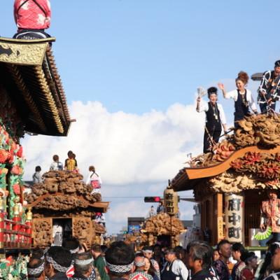 江戸時代から続く彫刻屋台